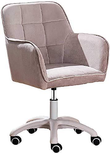 N/Z Wohngeräte Computer Schreibtischstuhl Samtschwamm Gepolsterte drehbare Bürostühle mit mittlerer Rückenlehne und Armen Sitzhöhe: 42 52 cm Startseite