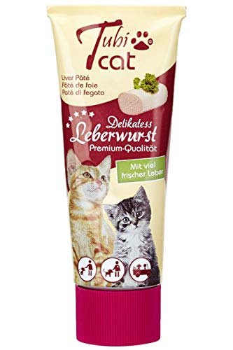 Tubi cat Leberwurst, 4er Pack (4 x 75 ml)