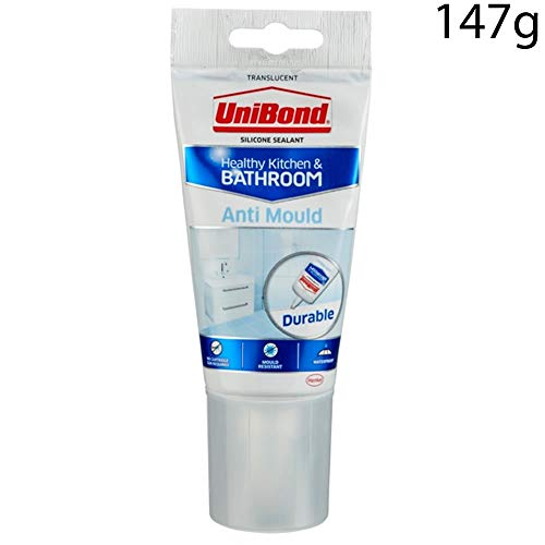 UniBond Anti Mould Kitchen and Bathroom Tube Clear 150ml - 1576583