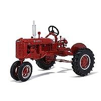 割合1:16ダイカスト車モデル農場トラクター合金モデル車のおもちゃコレクションディスプレイギフト装飾モデル車 (Color : Red, Size : 16.5cm*12cn*12cn)