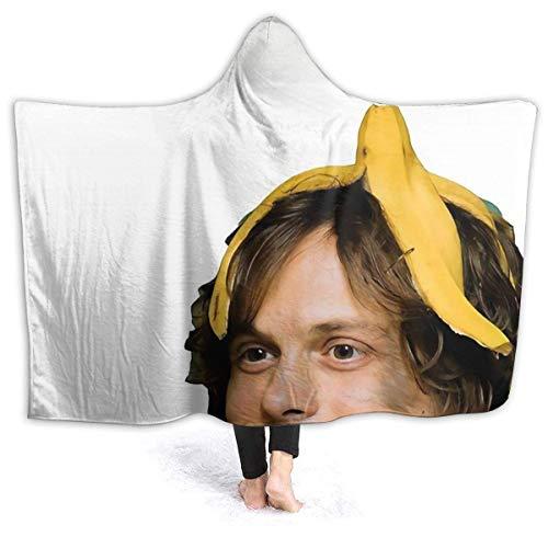 XCNGG Manta con Capucha Matthew Gray Gubler Wearable Hooded Throw Blanket Sherpa Blanket Fleece Hooded Blanket 60'' X50
