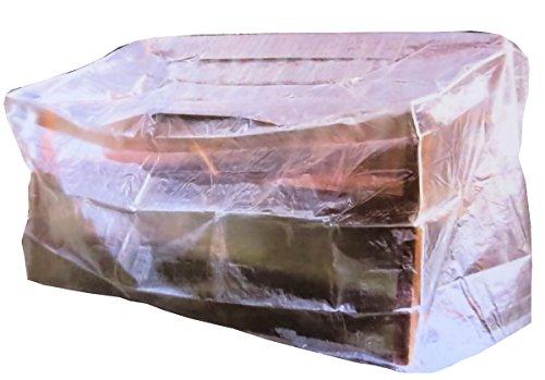colourliving Schutzhülle für Gartenbank Plane Garten Abdeckung Gartenmöbel transparent
