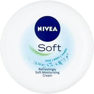 Nivea Soft Moisturising Cream (300ml) - Pack of 2
