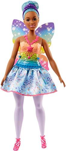 Barbie FJC87 Dreamtopia Regenbogen-Fee (Blaue Haare)