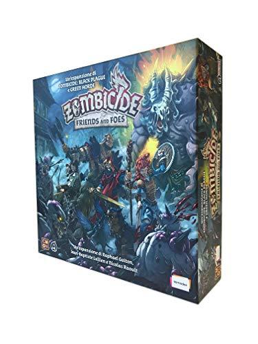 Asmodee - Zombicide Green Horde: Friends And Foes, Espansione Gioco da Tavolo, Edizione in Italiano, 8439