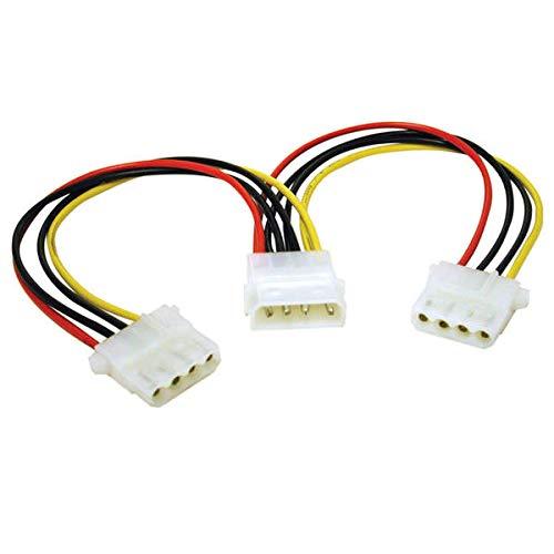 C2G 5.25 Internal Power Y-Cable Molex 2 x Molex - Adaptador para Cable (Molex, 2 x Molex, Macho/Hembra)