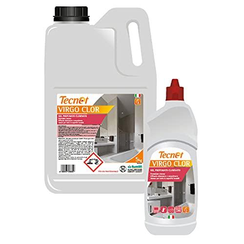 SMA GROUP: Virgo Clor - 12 botes de 750 ml - Limpiador desinfectante, quitamanchas y blanqueador
