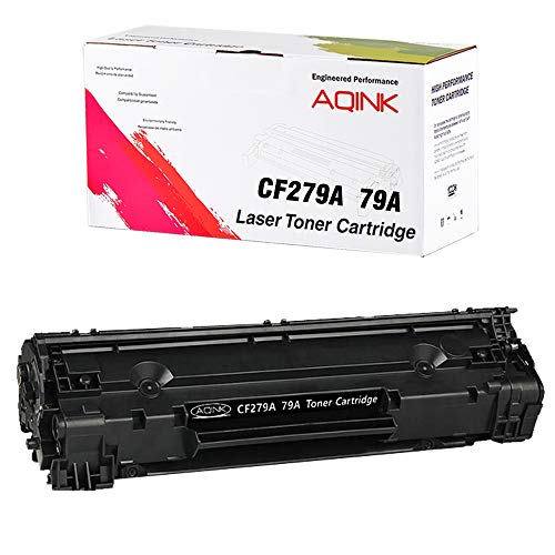 CF279A Toner Cartridge Compatible with 79A Toner for use in Laserjet Pro M12a, Laserjet Pro M12w, Laserjet Pro MFP M26nw, Laserjet Pro MFP M26a Printer - Black/1 Pack
