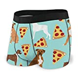 AOOEDM Troncos de la Ropa Interior de los Hombres Trombones Musical Men's Boxer Briefs Underwear with Comfortable Stretch Waistband