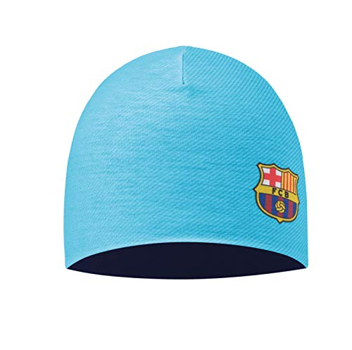 Buff Microfiber und Polar Hat Fc Barcelona Mütze, 2Nd Equipment 17/18, One Size