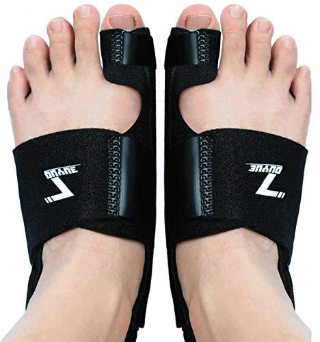 Bunion Corrector, Orthopedic Bunion Splint, Big Toe Separator Pain Relief, Hammer Toe, Hallux Valgus, Toe Joint Pain Relief Aid for Men & Women