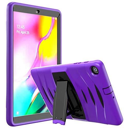 RZL Pad y Tab Fundas para Samsung Galaxy Tab A 10.1 2019 SM-T510 T515, Funda de Armadura Pesada Funda de Silicona a Prueba de choques para Samsung Tab A 10.1 T510