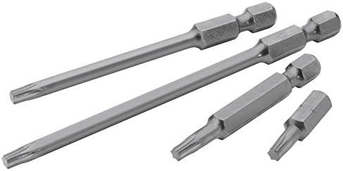 """Draper TX-STAR® Insert Bit 100mm Long x 166940 GENUINE DRAPER T27 1//4/"""" Hex"""