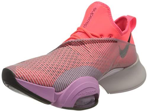 Nike Damen Air Zoom Superrep Straßen-Laufschuh, Flash Crimson/Black-Beyond Pin, 40.5 EU