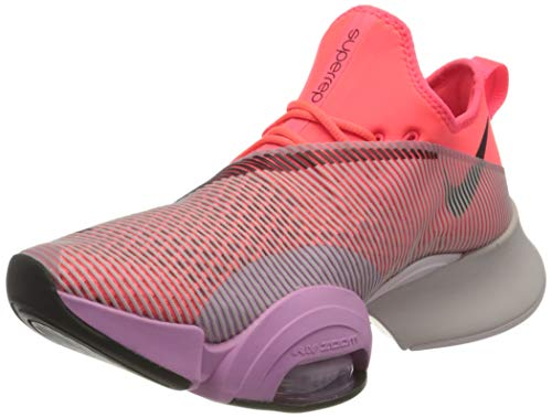 Nike Damen Air Zoom Superrep Straßen-Laufschuh, Flash Crimson/Black-Beyond Pin, 39 EU