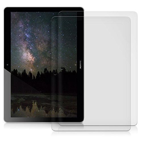 kwmobile 2x Folie kompatibel mit Huawei MediaPad T3 10 - Full Screen Tablet Schutzfolie entspiegelt - 4