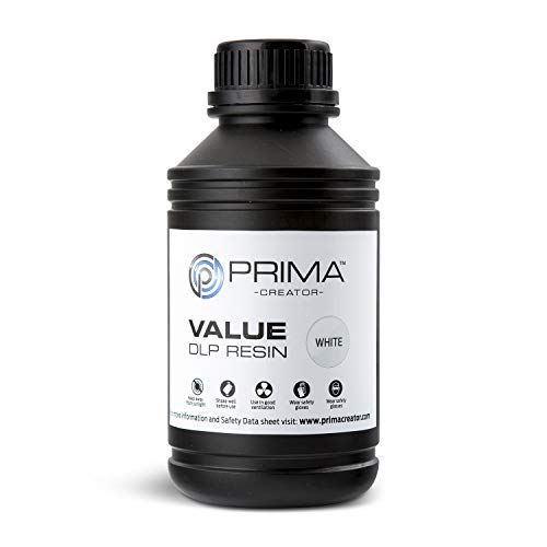 PrimaCreator Value UV/DLP Resin - 500 ml - Weiss