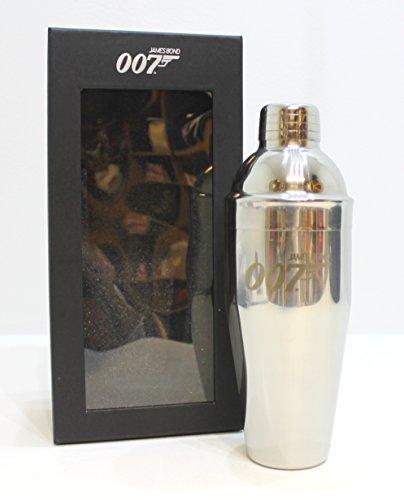 JAMES BOND 007 cocktailshaker zilver * nieuw & verpakt - verzamelbaar