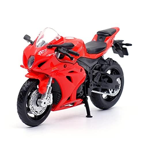 El Maquetas Coche Motocross Fantastico Para Honda Ducati 1:18 Simulación De Aleación De Fundición A Presión Motocicletas Decoración Niños Juguete Coche Regalo Regalos Juegos Mas Vendidos ( Color : F )