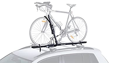 Rhino Rack Roof Top Hybrid Bike Carrier with Ratchet Arm and Multiple Locking Systems to Avoid Theft