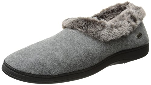 Acorn Women's Chinchilla Collar, Stone, 5-6 Wide