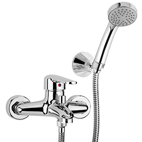 """PAINI COOPER 80CR105 Miscelatore vasca esterno con doccia """"Duplex"""""""