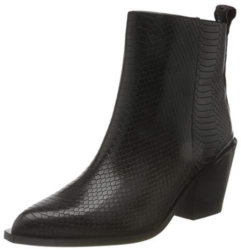 Buffalo Damen Margarita Mode-Stiefel, Snake Black, 37 EU