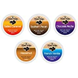 Roast Ridge Single Serve Coffee Pods Compatible with Keurig K-Cup Brewers, Flavored Variety Pack 100 Ct.