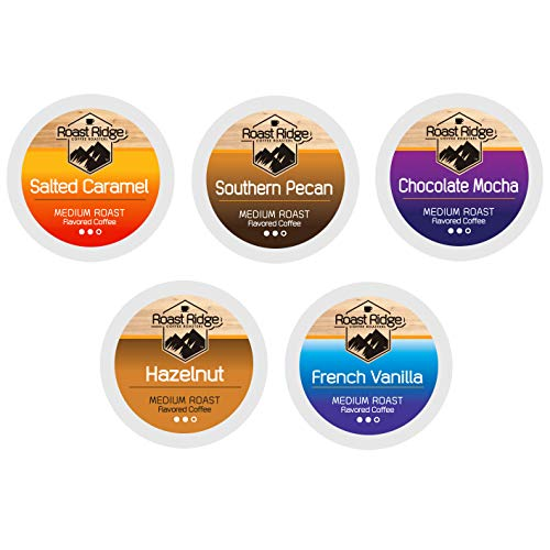 Roast Ridge Single Serve Coffee Pods Compatible with Keurig K-Cup Brewers, Variety Pack, 100 Count