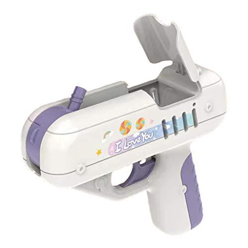 Generic Candy amor sorpresa piruleta pistola regalos para niños niñas niños mayores de 7 años - Púrpura