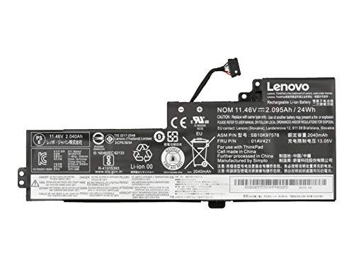 Lenovo Battery 24Wh original intern suitable ThinkPad T480 (20L5) series