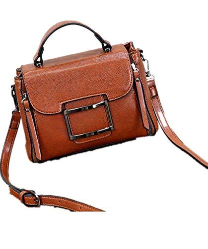 Nuovo tipo di spalla singola Obique Span Bag Handbag per le donne in 2019,marrone,free size