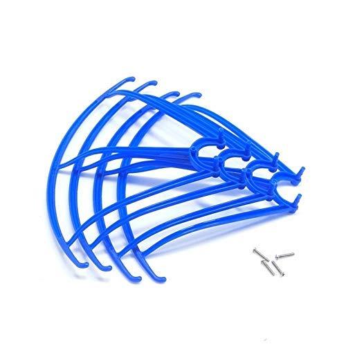 RC Drone Protective Frame Parte con tornillos para SYMA X5C X5SC X5SW Pieza de repuesto Propulsor de protección Protección de marco de pieza Accesorios de ala de la parte (Color: Blanco) Producto al a