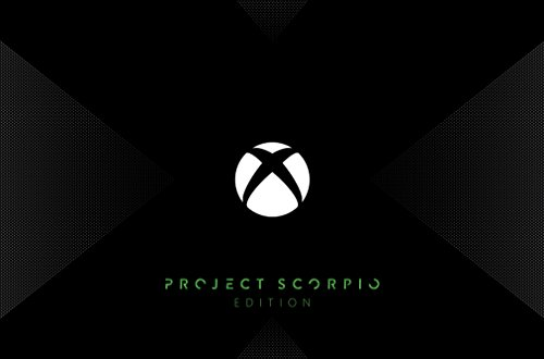 Xbox One X Project Scorpio Edition Console, 1 TB