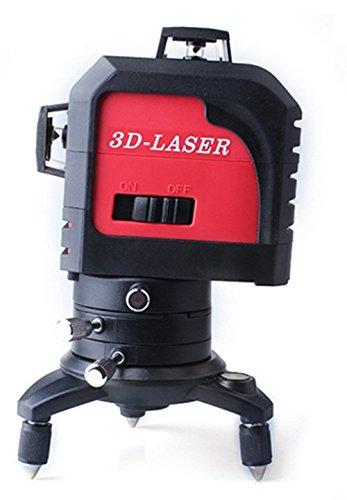 Wandeli Professional Green Line Laser Zelfnivellerende 360 Graden 12 lijnen leveler Horizontale en Verticale Cross Line Laser