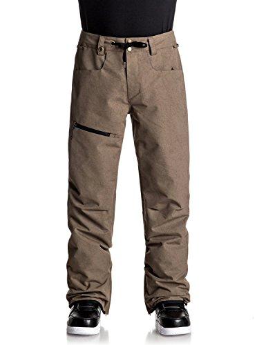 Quiksilver Herren Snowboard Hose Forest Oak Pants
