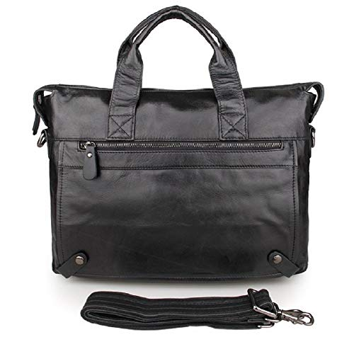 J.M.D Men Genuine Leather Handbag Shoulder Messenger Bag Briefcase Laptop Bag Business Bag