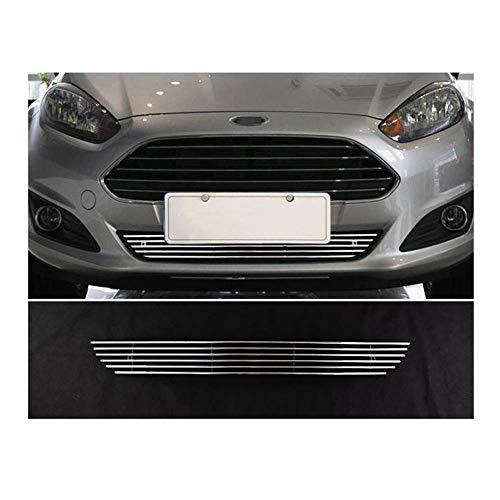 Sport Nier Grille Cover, RVS Sportieve Spoiler voor Ford Fiesta,c1