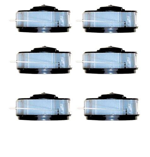 6 bobinas para desbrozadora apta para cortabordes eléctrico ALDI Gardenline.