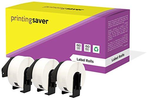 3 Rollen DK11201 DK-11201 29mm x 90mm Adress-Etiketten kompatibel für Brother P-Touch QL-500 QL-550 QL-570 QL-700 QL-800 QL-810W QL-820NWB QL-1050 QL-1060N QL-1100 QL-1110NWB (400 Etiketten pro Rolle)