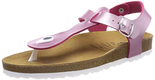 Lico Damen Bioline Look Niedrige Hausschuhe, Pink Pink, 36 EU
