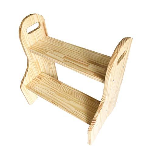 Leiter CXLO Kindertritthocker, Holzbettstufen für Kinder, 50 X 50 X 50 cm, Tragend 60 Kg