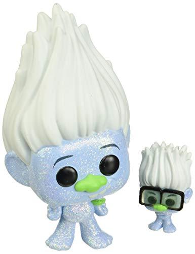 Funko - Pop! Movies: Trolls World Tour - Hip Hop Guy w/ Tiny Figurina, Multicolor (47004)