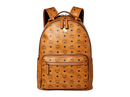 MCM Stark Backpack 40 Cognac One Size