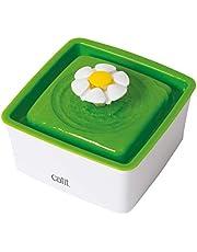 catit 43735 W 2.0 mini fontanna kwiatowa 1,5 l, biały/zielony