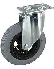 Zwenkwiel zonder vergrendeling wiel 150 mm luchtbanden kogellagers draagvermogen: 60 kg