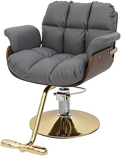 Silla de peluquería Salón Peluquería Sillas de peluquería Sillas de barbero for sillas de peluquería de estilista, silla de peinado hidráulico de trabajo hidráulico reclinado for trabajos pesados, car