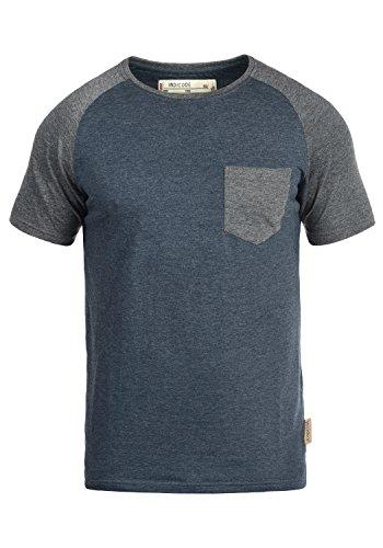 Indicode Gresham T-Shirt, Größe:M, Farbe:Navy Mix (420)