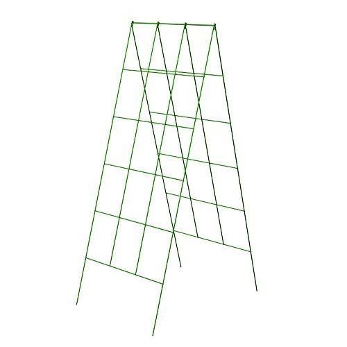 "Panacea Products 46"" x 18"" A Frame Light Green Trellis-(83712)"