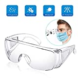 EPODA Safety Over-Glasses X-pect® 8110 Lunettes de travail anti-buée pour travaux...